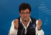 Ministro da Saúde, Mandetta estava ameaçado de demissão
