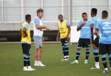 Grêmio encerra penúltimo dia de treinos físicos antes de ir à Criciúma