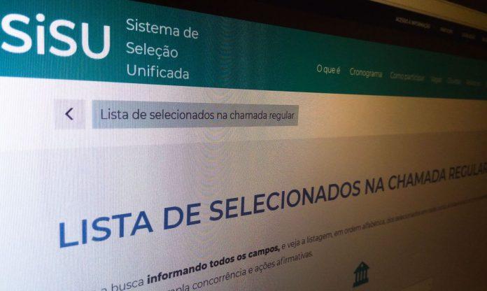 Resultado do Sisu do segundo semestre já está disponível no site
