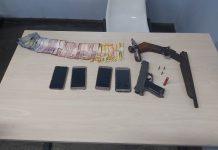 Quinteto responsável por assaltos na zona Norte é preso