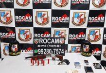 Irmãos são presos com armas e munições no bairro Raiz