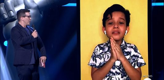 Amazonense Vinnie Ramos passa para próxima fase do The Voice Kids
