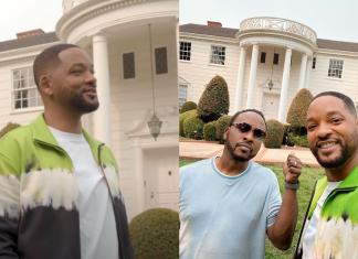 """Will Smith reúne elenco de """"Um Maluco no Pedaço"""" na mansão da série"""