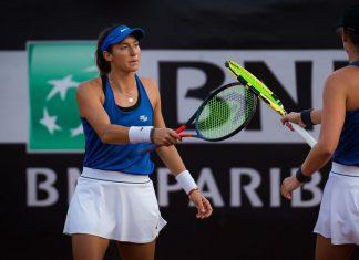 Dupla de Luisa Stefani avança às quartas do WTA de Estrasburgo