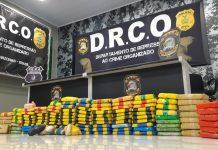 Polícia Civil apreende 130kg de cocaína avaliada em R$ 3 milhões