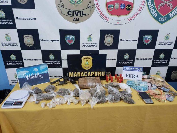 Integrante de organização criminosa é preso em Manacapuru