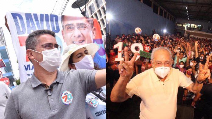 David tem 55% da intenção de votos contra 45% de Amazonino, aponta nova pesquisa