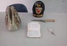Após roubar a bolsa de uma mulher, homem é preso no Centro