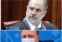 Aras pede abertura de inquérito para apurar conduta de Pazuello em Manaus
