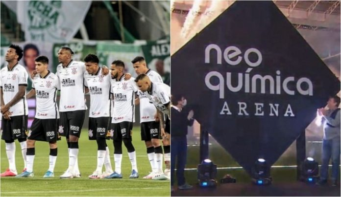 Neo Química deve ser a nova patrocinada máster do Corinthians