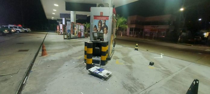 Trio que utilizava explosivos em assaltos a postos de combustíveis é preso no Am
