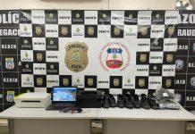 PC prende trio que roubou loja de calçados e localiza receptador dos produtos