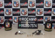Dupla é flagrada pela Rocam com armas no bairro Grande Vitória