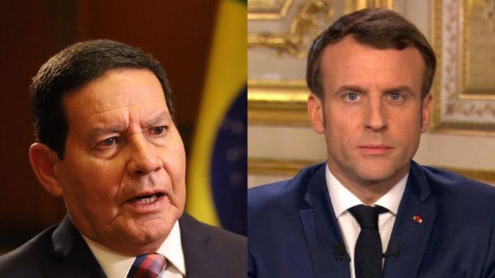 Mourão diz que Macron desconhece a produção de soja no Brasil