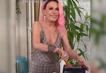 Ana Maria tenta fazer bife, mas torradeira queima ao vivo no 'Mais Você'
