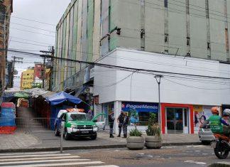Homem é preso na madrugada desta quinta-feira no centro de Manaus