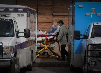 Covid-19: EUA ultrapassam pela primeira vez 4 mil mortes em 24 horas