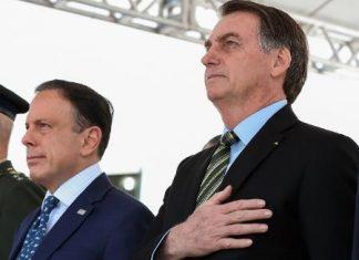 """Doria vê """"afronta"""" de Bolsonaro em """"boicote"""" a São Paulo"""