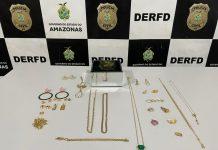 Homens são presos por roubo a joias e semijoias avaliadas em R$ 100 mil