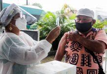 Idosos de 65 a 69 anos das comunidades rurais e rodoviárias começam a ser vacinados