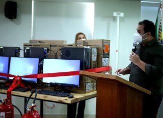 Presidente da Aleam entrega equipamentos para a Fundação Cecon