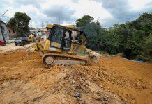 Área afetada por erosão no Santa Etelvina chega à fase final de recuperação
