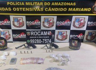 Em Manaus, PM prende 81 pessoas e apreende mais de 400 munições