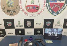 Em Coari, homem é preso por tráfico de drogas e violência doméstica