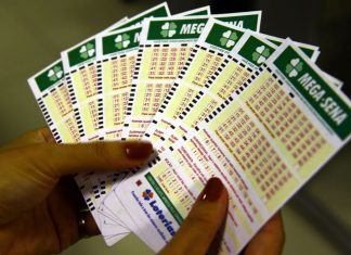Caixa sorteia hoje R$ 40 milhões da Mega-Sena acumulada