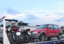 Polícia recupera cinco veículos roubados em Manaus